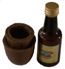 choc shooter cup and liqueur small